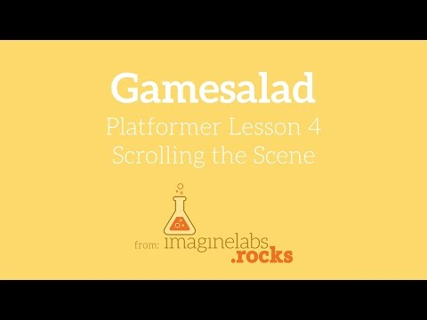 04 Platformer Game Tutorial: Scrolling the Scene