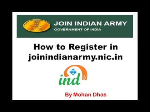 join indian army online application | join indian army online registration