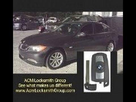 Duluth, GA Auto Locksmith: 2007 BMW 328i - Make Lost Key Replacement & Programming!