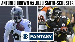 WR Matchup: Brown vs Smith-Schuster | Fantasy Football Today