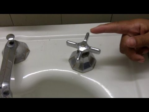 How to Replace a Washer in an Oldfashioned Leaky Faucet