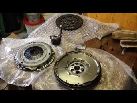 Sachs dual mass flywheel and clutch kit for VAG 2.0 TDI UNBOXING