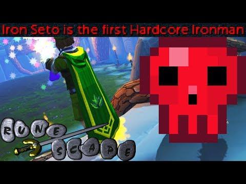 Runescape Iron Seto First Hardcore Ironman to 120 Herblore - Setosorcerer Max Cape - 200M Herblore!