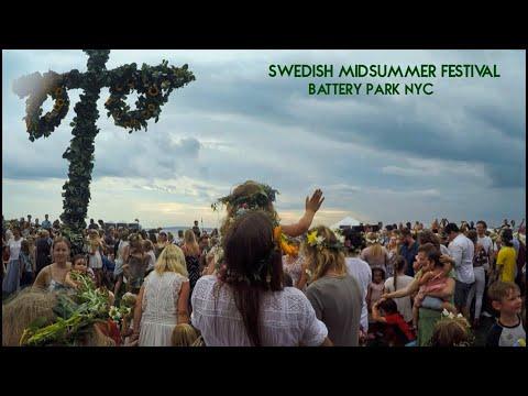 Swedish Midsummer Festival @ Battery Park 2017