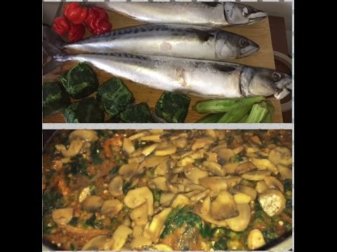 Delicious Nigerian Okra and Ogbono soup without palm oil