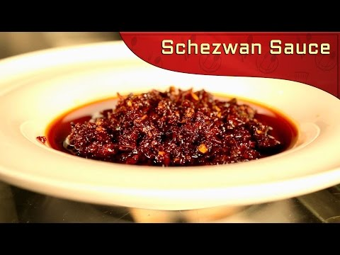 Indo Chinese Schezwan Sauce | Chinese Schezwan Sauce