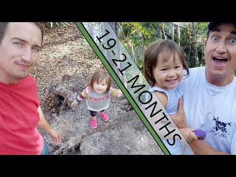 Hiking Trails With Toddler at 19,20, and 21 Months Of Age