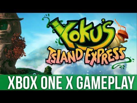 Yoku's Island Express - Xbox One X Gameplay (Gameplay / Preview)