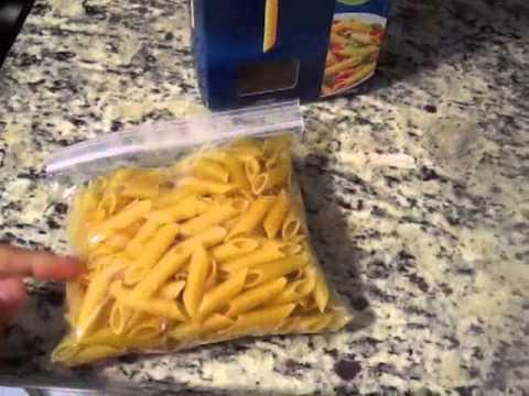 Quick Kitchen Tip: Organizing Leftover Pasta