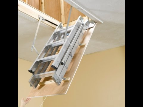 Attic Ladder - Install