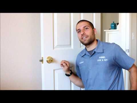 Unlocking a Deadbolt Using a Bump Key