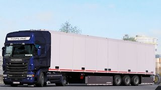 ETS2 1 30 open beta NEW Scania R500 Lyon - Venezia - PakVim