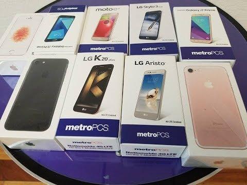 My top 5 metroPCS smartphones, range Price 99$-199$ in  2017