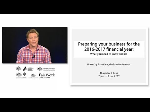 Preparing your business for the 2016-2017 financial year