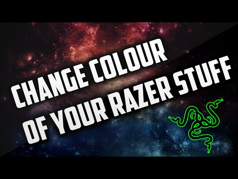 How to change Razer Colour on Mouse, Keyboard And Mouse Mat