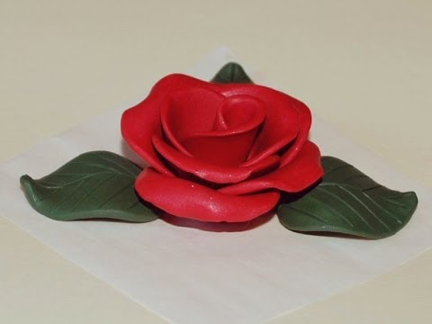 How to Make a Rose : Polymer Clay Tutorial