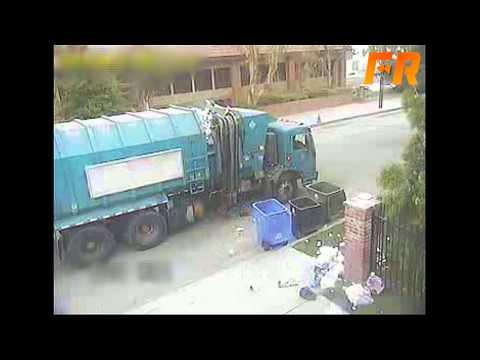 Trash Truck Fail | OrangeCabinet