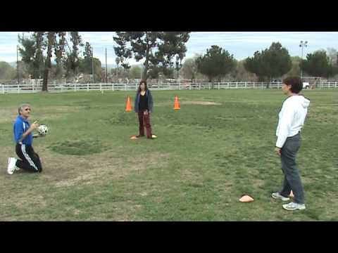 Soccer Drills:  50/50 Challenge
