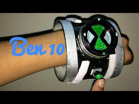 How to make a paper Ben 10 watch Diy(prop)