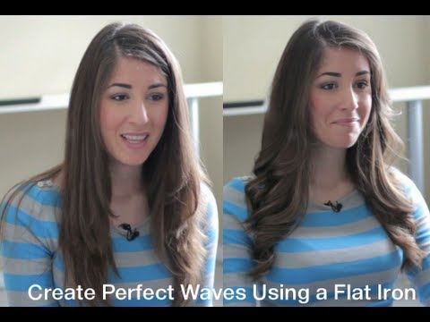 How To: Perfect Flat Iron Waves Tutorial