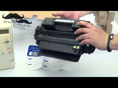 How to install Moustache Q2610A toner cartridge for HP Laserjet 2300n - BY 123InkCartridges