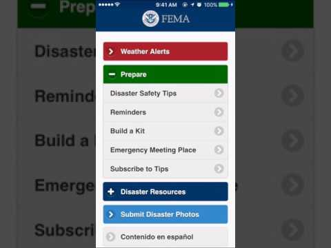FEMA App Review