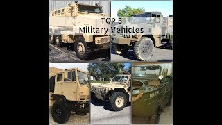 TOP 5 military vehicles you can buy RIGHT NOW! Week 1