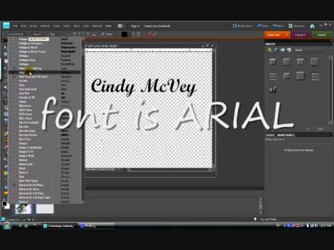 Creating an Embossed Watermark in Photoshop Elements 8 - Part 1