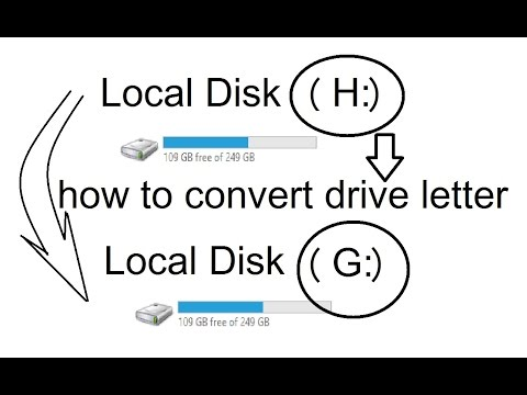 HOW TO CHANGE DRIVE LETTER via COMMAND PROMPT