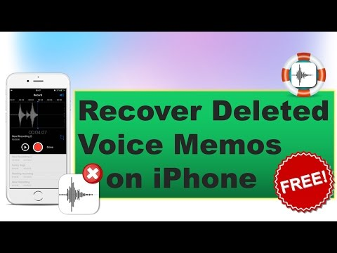 How to Recover Deleted/Trimmed Voice Memos on iPhone for Free