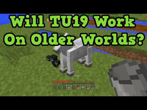 Minecraft Xbox 360 + PS3: Are Horses + TU19 Features For Old Worlds?