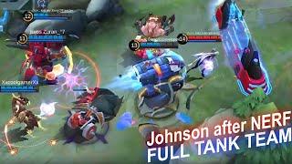 Johnson Nerf with FULL TANK TEAM