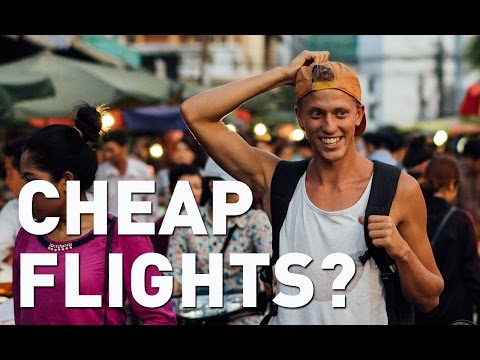 BUDGET BACKPACKING EP1: HOW TO FIND CHEAP FLIGHTS? (the basics)