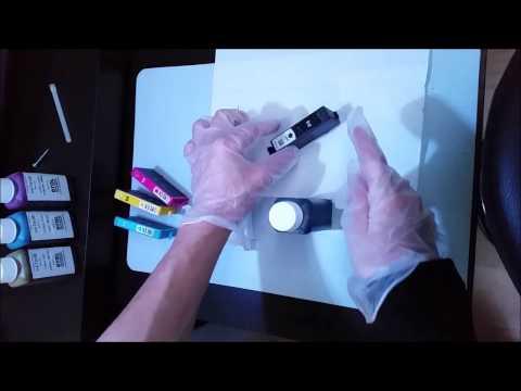 How To Refill Inkjet Cartridges