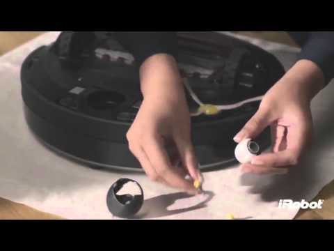 iRobot Roomba 800 series-How to clean front chaster wheel