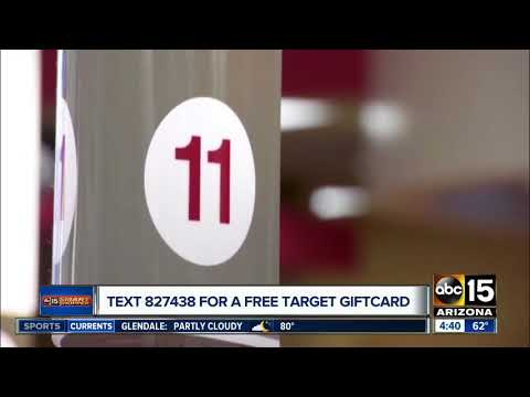 Get a free Target gift card -- here's how!