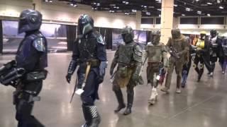 Mandalorian Mercs March - Star Wars Celebration Orlando 2017