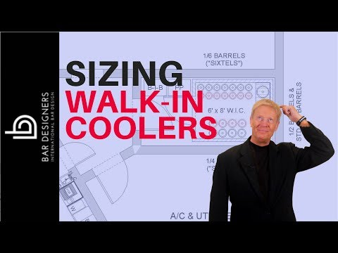 Bar Design - How To Size A Walk-In Cooler For A Draft Beer System