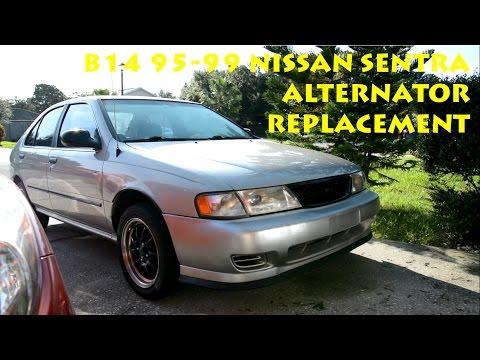 B14 1995 - 1999 Nissan Sentra Alternator Replacement
