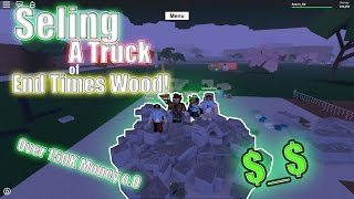 Getting End Times Tree // Phantom Tree || Lumber Tycoon 2 || Roblox