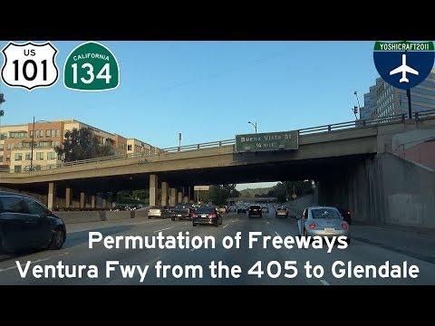 (5-13) Permutation of Freeways - Ventura Freeway from the 405 to Glendale