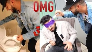 NASTY TOUCH THE FACE CHALLENGE!!!