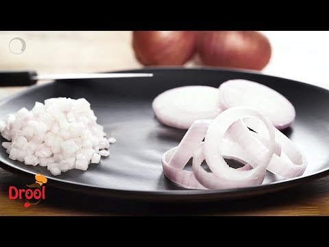 How To Cut Onions | Different Ways To Chop Onions