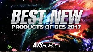 The Best New Products of CES 2017: LG OLED Tunnel, HiSense H8D, LeEco UMAX, JVC Procision &More