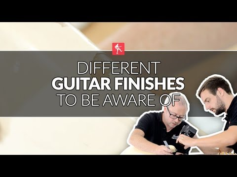 Different Guitar Finishes To Be Aware Of When Cleaning Your Guitar - Guitar Maintenance Lesson