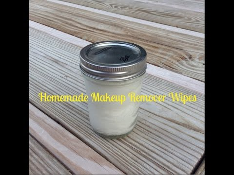 Homemade Makeup Remover Wipes Tutorial