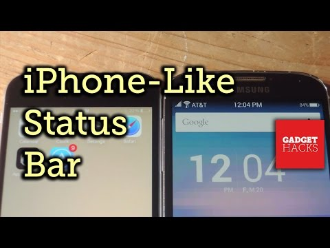 Get Your Android Status Bar Looking Like an iPhone's [How-To]