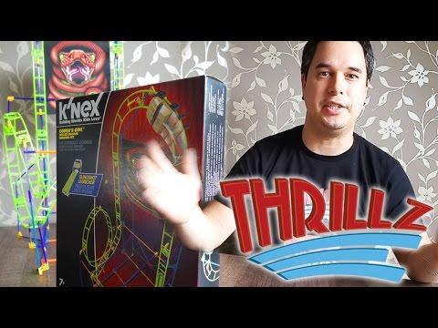 K'Nex Cobra's Coil Roller Coaster - Build by Dion - Thrillz