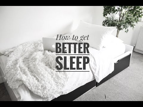 HOW TO GET BETTER SLEEP + NEW MATTRESS UNBOXING #ad | KEZIA ENIANG