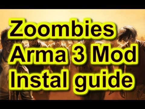 Zoombies - Install guide - Arma 3 DayZ Mod - .bat installation included